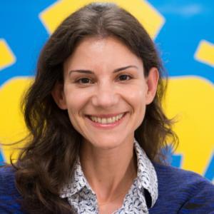 Portrait of Prof. Eleni Drinea