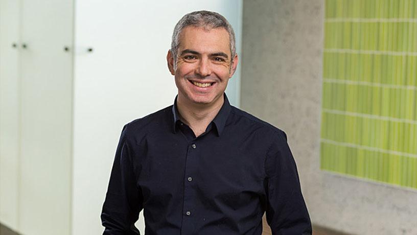 Portrait of Prof. Dan Steingart.