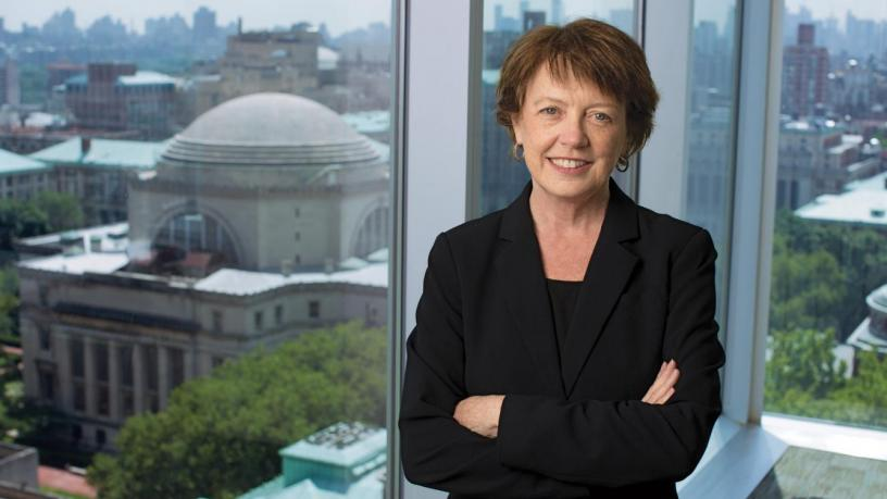 Portrait of Mary C. Boyce, Dean of The Fu Foundation School of Engineering and Applied Science.