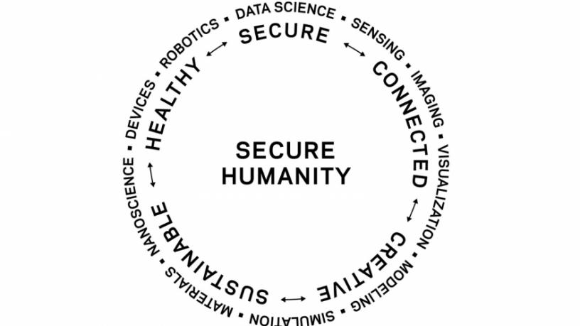 Columbia Engineering For Secure Humanity stamp.